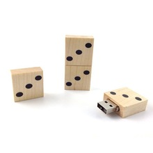 Different funny pen drive models usb stick dice shape 1gb-64gb