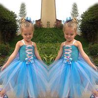 Factory direct salesCute Design Frozen Baby Girls Summer Dress Latest Party Wear Dresses For Girls