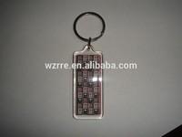 Custom photo frame acrylic key chain