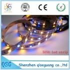 QSG---SMD5050 RGB DMX Digital flex led strip light roll