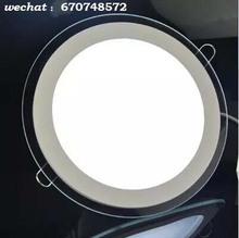 China glass panel light led panel light for home 3W 4W 6W panel light glass