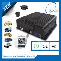 8CH FULL D1 HDD/SSD MDVR with 3G/WIFI/GPS 2 din 7 inch car dvr gps