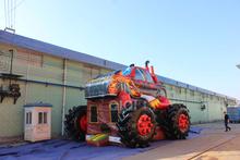 Monster Truck castelo inflável camas para crianças