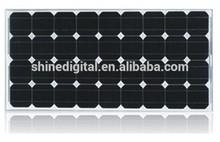 80W High Quality Pvt Hybrid Solar Panel