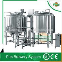 fruit/barley/stout beer brewery system 200L, 500L, 600L, 1000L per batch