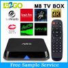 pre-install xbmc M8N quad core internet tv set top box