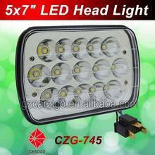 OEM ODM available Guangzhou wholesale flood/spot beam optional 7inch oblong shape led