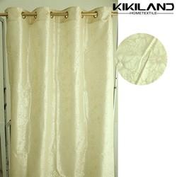 Curtain fabrics manufacturer factory supply decorative window curtain