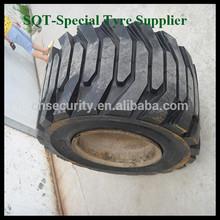 10-16.5 Skid Steer Solid Tyre, Wheel Assembled