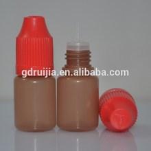 ldpe dropper bottle 5ml e-liquid bottle, plastic bottle drop testing