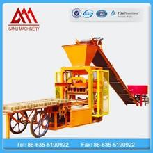 QTJ4-26 Shandong Sanli construction equipment manufacturing exporter for block making machine
