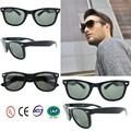 nouveau design 2015 lunettes de soleil polarisées hommes noirs uv400 matériel pc avec du ce de la fda