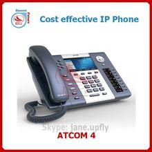 R4G: High end 6 lines Gigabi IP Phone