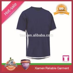 Custom 90% polyester 10% spandex dry fit shirts wholesale/polyester spandex shirts