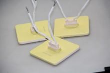 Buried-cast Piezoelectric Ceramic Plates