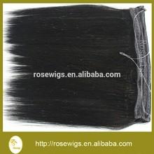 Top Quality Peruvian Virgin Hair Straight 3 pcs 6A Peruvian Virgin flip in Hair Extension