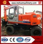 Japan made used/second hand EX100wd excavator EX100wd in shanghai,used digger 10T