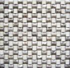 Newest popular cheap mosaic bathroom stone floor tiles