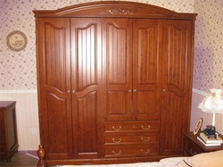 japanese big wardrobe furniture/cloth wardrobe installation