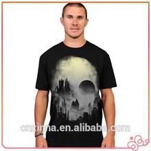 2015 fashion cheap custom wholesale t shirt printing