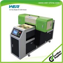 2015 new hot sale printer sale used uv printer machine for smartphone case CD and Key lines printing machine