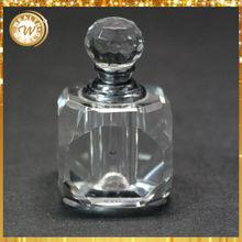 2015 caliente de la venta 6 ml - 20 ml Clear Crystal botella de Perfume cuerpo decorativo botella