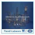 cristalería de laboratorio matraz