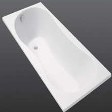 White ABS vacuum forming Large plastic bath tub thermoformed Large plastic bathtub