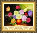 coser punto de cruz chino kit de diseño de bordado de flores para el arte de la pared