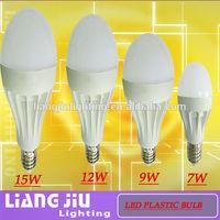 tri-color phosphor !!!high lumens 220V 3W 5W 7W 9W 12W 15W LED bulb from lighting manufacturer