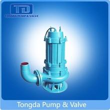 Mining Dredge Big Flow Low Pressure Centrifugal Submersible 100ZJQ Slurry Pump