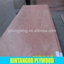 13 ply bintangor plywood poplar core factory directly selling