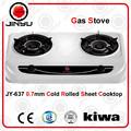 Las ventas caliente 2 0.7mm quemador de estufa de acero inoxidable aparato de cocina estufa de gas/cocina de gas