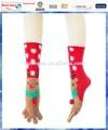 Noël rennes empoissonnement/bas de noël tricotés./orteil chaussettes de noël