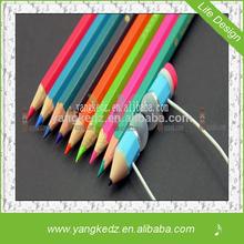2014 high quanlity unique design pencil shape head phones earphones for iphones