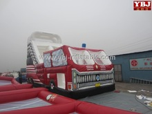 fire fighting truck inflatable dry slide