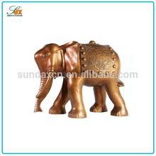 Super quality most popular animal metal figurine home decoration