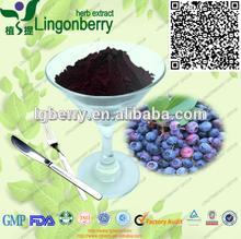 blueberry leaf extract Pterostilbene1%-20% antioxidant Pterostilbene