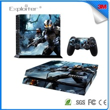 Cheap new arrival vinyl sticker for ps4 controller console skin