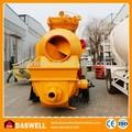 Eléctrica Diesel de la bomba de hormigón con mezclador venta