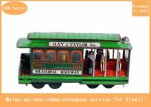 kids cartoon bus model toy for fun