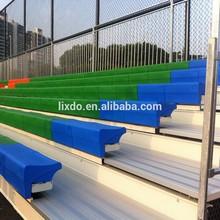 Best football field fixed bleacher with plastic seats