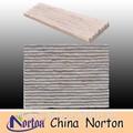 Mur de briques de décoration gris ardoise tuile bandes. ntcs- c114