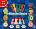 pastel de selos de eva pincéis gigante centro de arte de pintura diy conjunto
