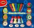 Crayon EVA stamps paint brushes giant art centre DIY paint set