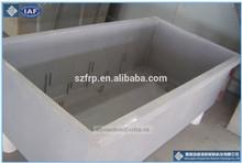Tanque de fibra de vidrio para la acuicultura/frp tanque de los pescados/frp tanque de reacción