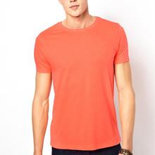 Men slim fit blank cheap t-shirt