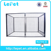 big welded panel xxl dog kennel with flat roof