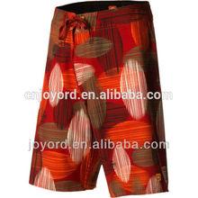 Gradient hot sexy men beach wear wholesale 4 way stretch fishing shorts no moq limit
