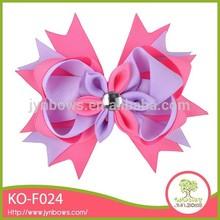 China handmade knit crochet flower headband